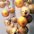 Ornaments + Safety Pins = NYE Style!
