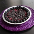 #BlackoutSOPA Blackberry Oreo Crumble