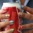 Smokin' Super Bowl Style: Football Eyes & Player Nails