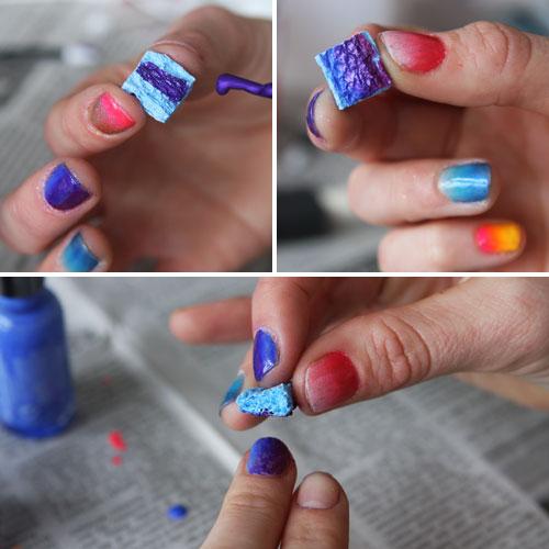 Как накрасить ногти своими руками в домашних условиях 309