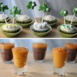Boozy Irish Cupcakes &amp; Jameson Pudding Shots