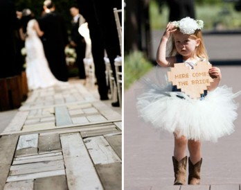 Add Rustic Charm to Your Wedding with Wood