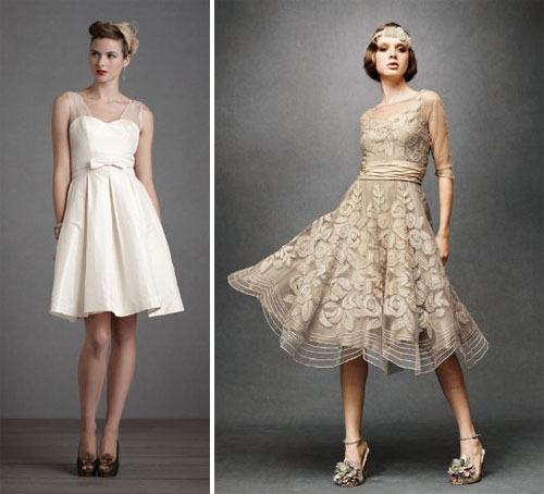 Non-Traditional Wedding Dresses