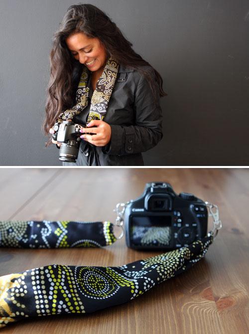 DIY Chic Custom Camera Strap | Brit + Co