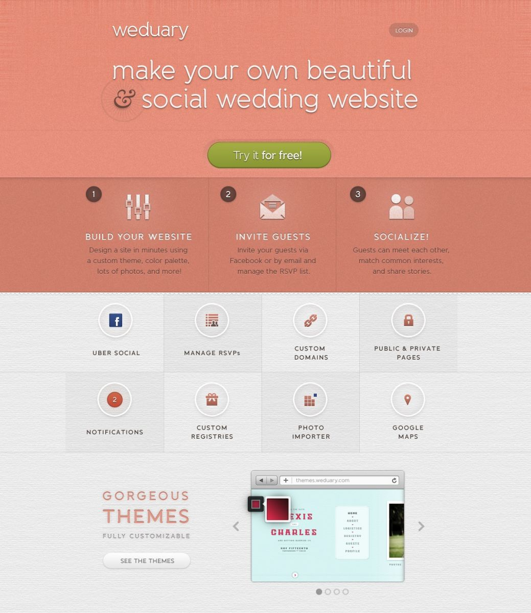 Announcing Weduary: Make Your Own Social & Beautiful