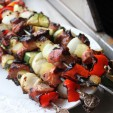 Get Your Grill On: Pineapple Pork Kabobs