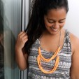 Upcycle Fabric Scraps into Stylish Statement Necklaces