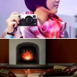 The BritList: An 8-Bit Fireplace, Dish Racks that Water Plants & More