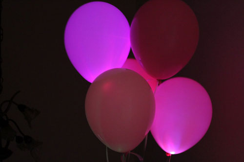 Light Up Your Party with LED Balloons | Brit + Co.