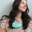 How to Create Chic Chunky Necklaces Using Chain and Spandex