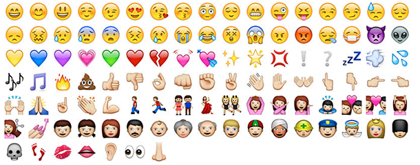 a sneak peek at the new emoji icons in ios 6 brit co