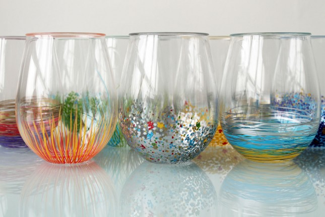Add A Pop Of Color To Your Glassware Brit Co