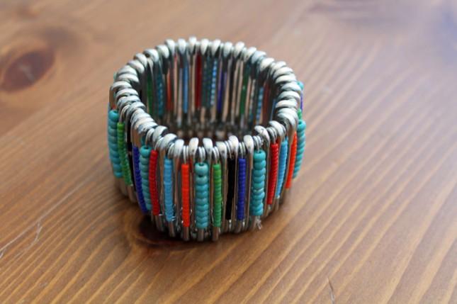 bracelet perle epingle