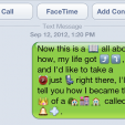 Popular Song Lyrics in iOS Emoticon Form