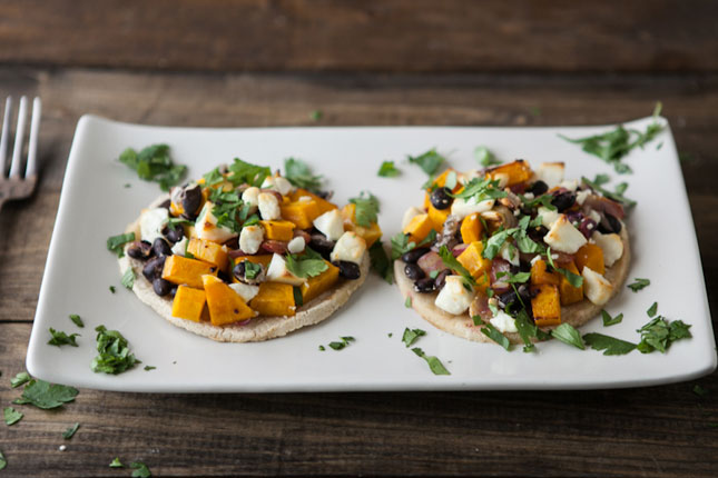 chipotle butternut squash tostadas just spicy enough these tostadas