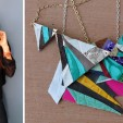 How to Create Geometric Leather Pendant Necklaces