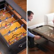 Score! A Foosball Table and Coffee Table in One!