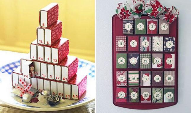 すべての折り紙 折り紙 可愛い箱 : DIY Advent Calendar