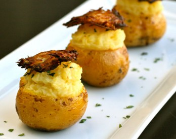 These Triple Threat Potatoes are Baked, Mashed, and Fried!