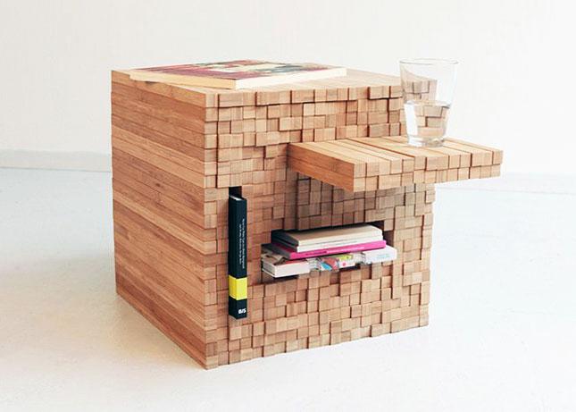 the britlist a wearable led tv modern litter box more brit co. Black Bedroom Furniture Sets. Home Design Ideas