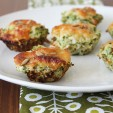 Cauliflower Power: Low Carb Mini Quiche Cups