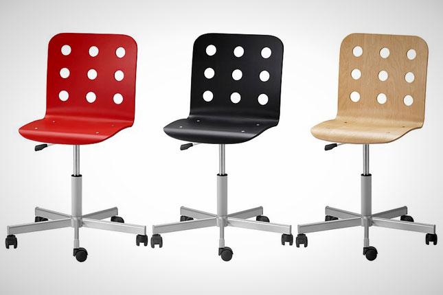 20 delightful desk chairs brit co. Black Bedroom Furniture Sets. Home Design Ideas