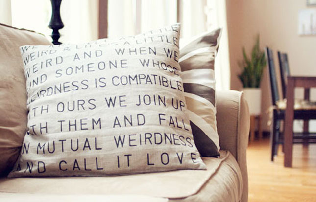20 Creative Ways to Make Your Own Pillows | Brit + Co.