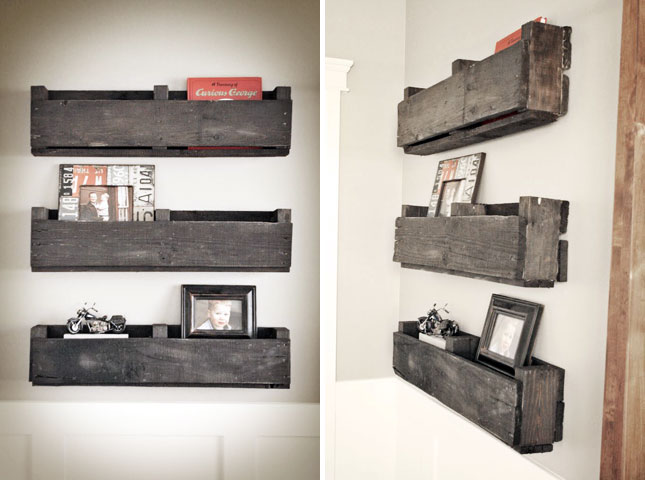 25 creative ways to repurpose pallets brit co - Creative ways to store your magazines ...