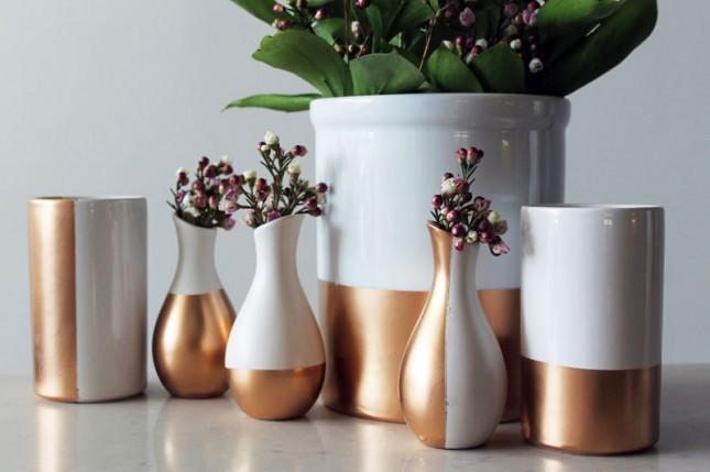 Diy Basics Gold Dipped Ceramics Brit Co