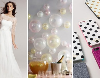 15 Things to Buy + DIY for a Springtime City Wedding