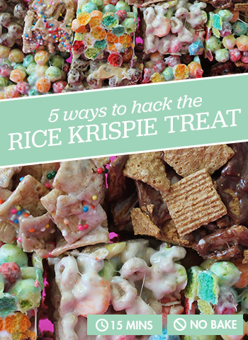 5 Ways to Hack the Rice Krispie Treat (No Baking Required)