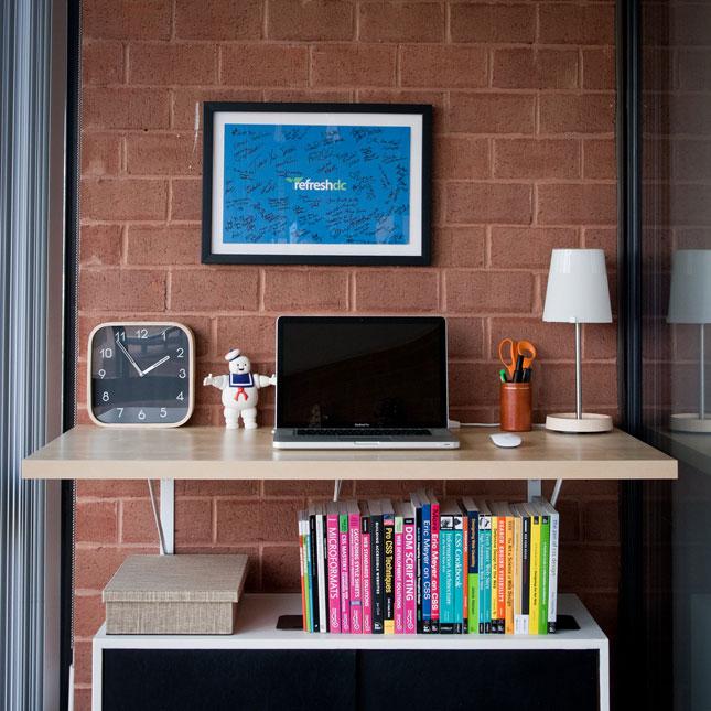 get up stand up 10 do it yourself standing desks brit co. Black Bedroom Furniture Sets. Home Design Ideas