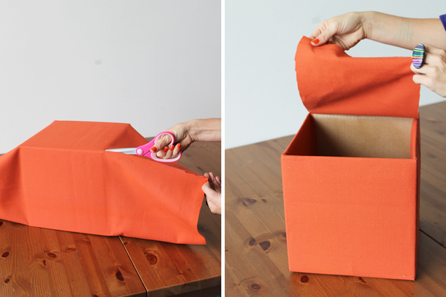 Коробки для хранения своими руками фото