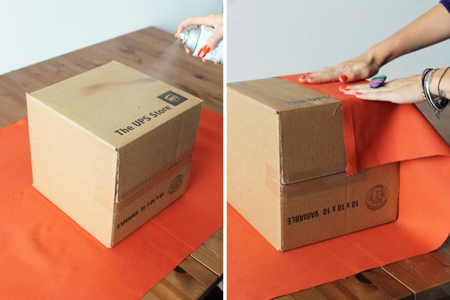 Как из коробки сделать коробку для вещей своими руками