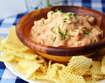 You Have to Try Our Creamy BBQ Chicken Dip!