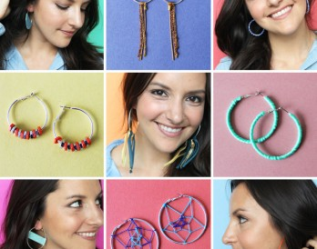 9 Ways to Hack Your Hoop Earrings