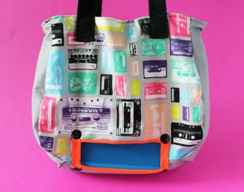 Presenting the No-Sew Jambox Tote Bag