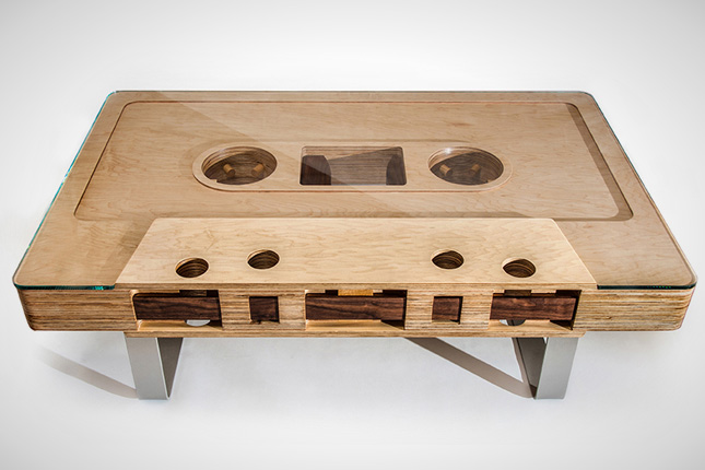 Mixtape for Coffee tables quirky