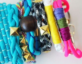 5 Ways to Make Trendy Rope Bracelets
