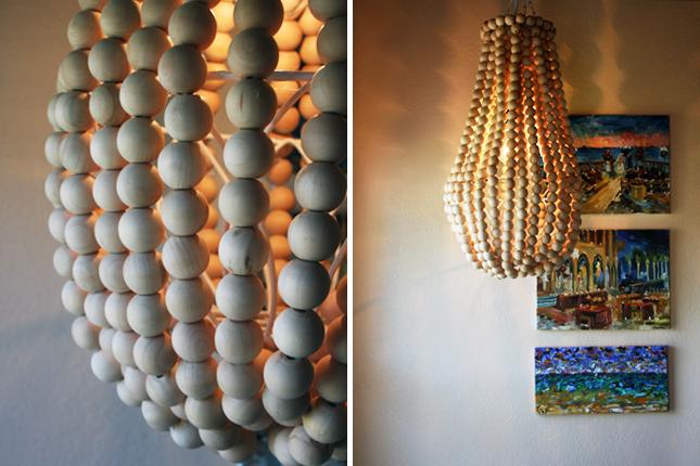 How to make a wooden chandelier brit co - Diy chandelier kit ...