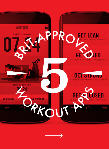 5 Brit-Approved Workout Apps for a Better Beach Body