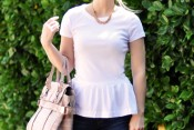 Peplum T-shirt DIY