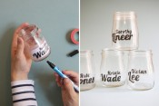 Glass Jar Typography