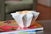 Make an origami star lantern