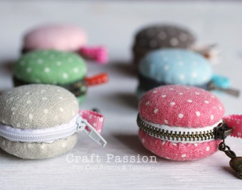 DIY Macaron Coin Purse