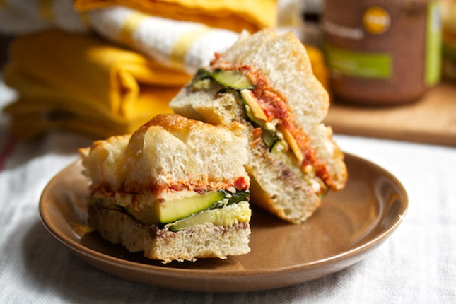 10. Grilled Vegetable Sandwich with Fontina : The keys to making these ...