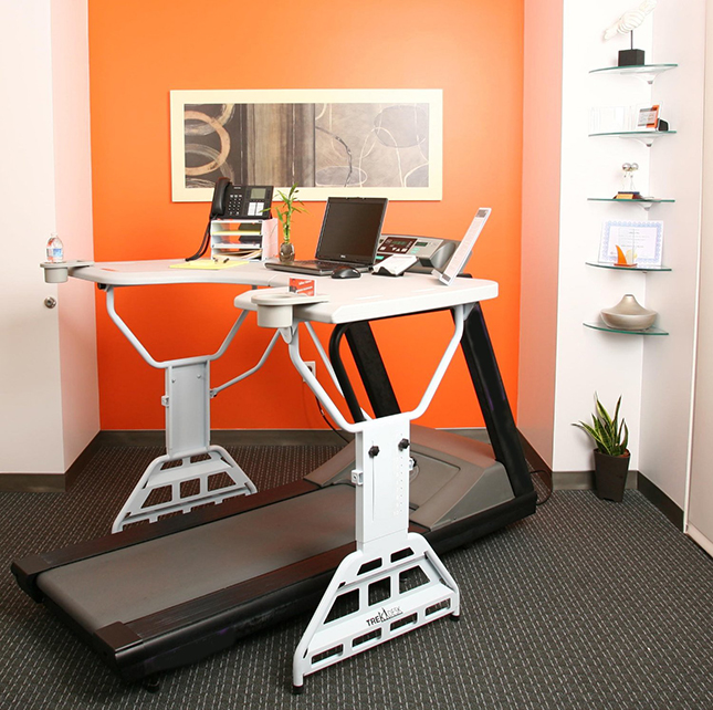Turn Treadmill Into Desk