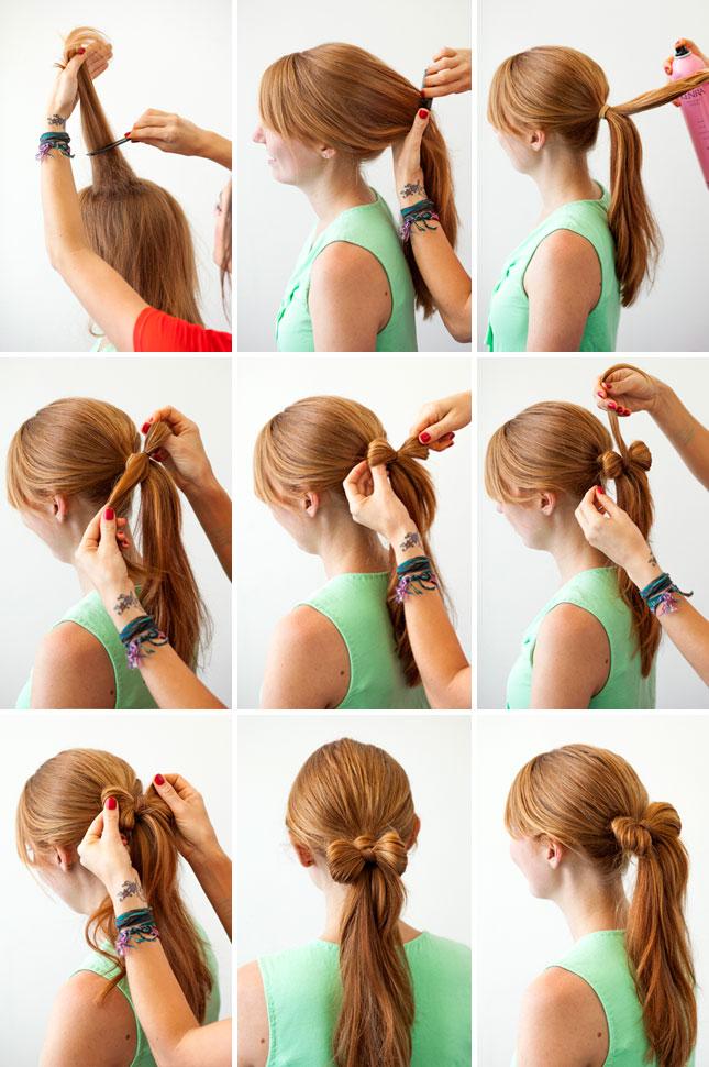 Diy hair bow bun pictures photos and images for facebook tumblr - El Post De Las Zanahorias Peinados Con Lazos