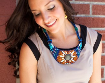 DIY Copycat: Anthropologie Beaded Bib Necklace