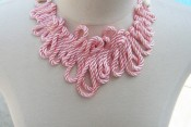 Zig-zag Loop Rope Necklace DIY